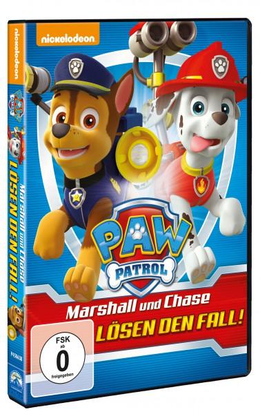 Paw Patrol - Marshall und Chase lösen den Fall! (DVD)