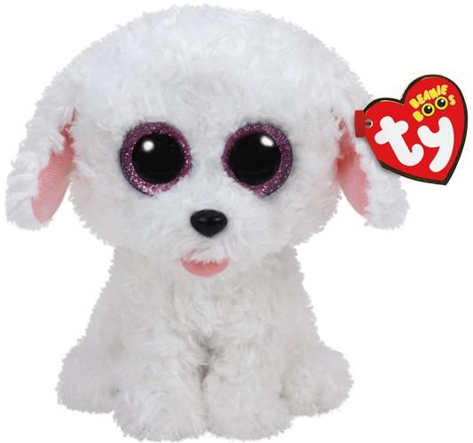 Beanie Boos Glubschi - Pippie, Hund,weiß (ca.15cm)