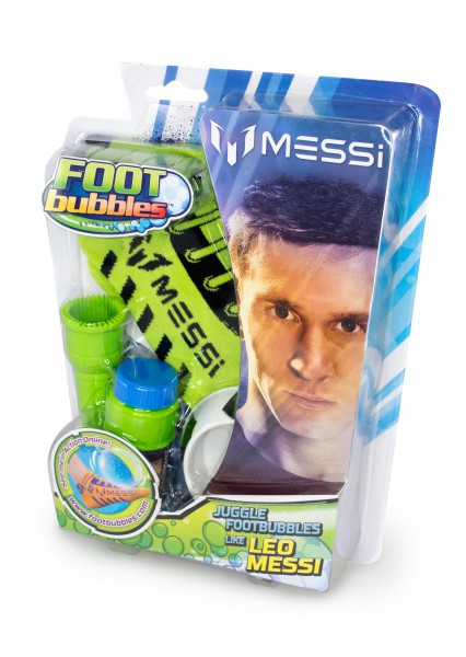 Messi Footbubbles Starter Pack in Grün