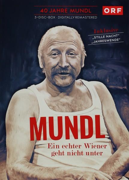40 Jahre Mundl - Ein echter Wiener geht nicht unter Vol. 1-3 (3 DVD Box)
