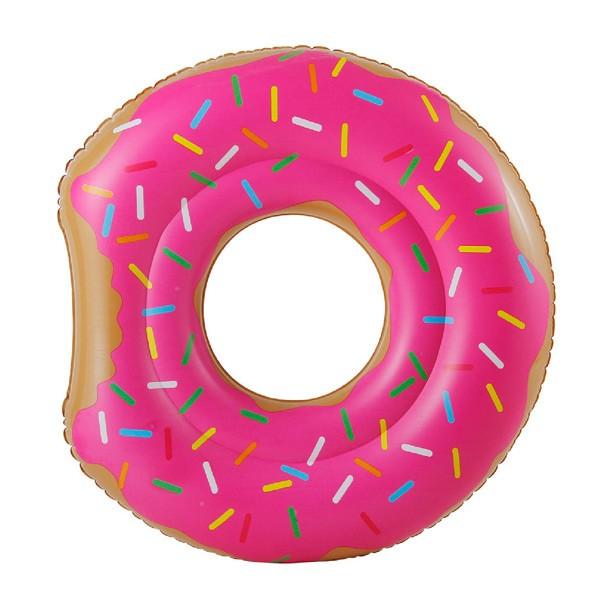 Luftmatratze, Schwimmreifen Angebissener Donut