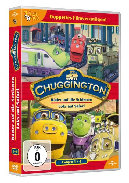 Chuggington - Räder auf die Schienen (Vol. 3) & Loks auf Safari (Vol. 4)