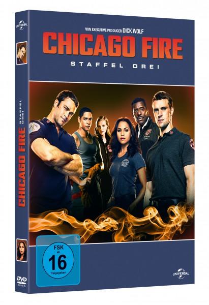 Chicago Fire - Staffel 3 (DVD)
