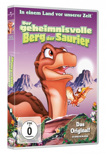 In einem Land vor unserer Zeit - Der geheimnisvolle Berg der Saurier (DVD)