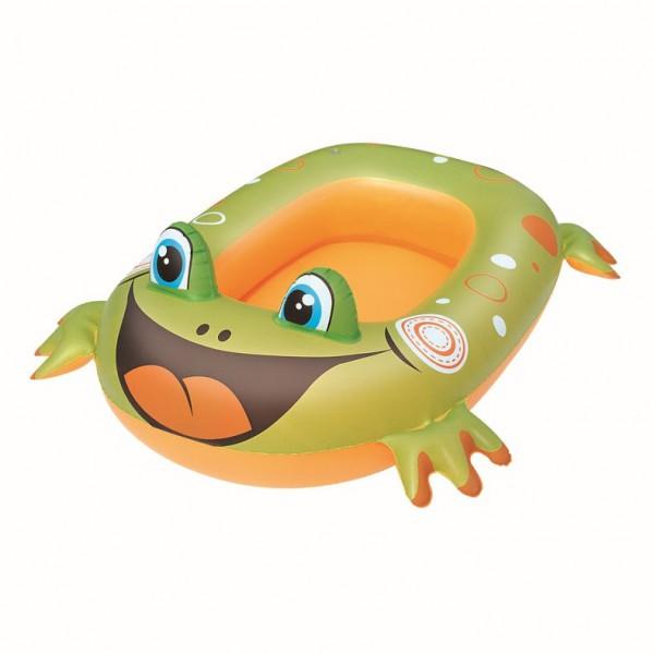 Kinder Poolboot Frosch / Fisch