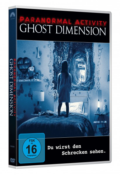 Paranormal Activity: Ghost Dimension (DVD)