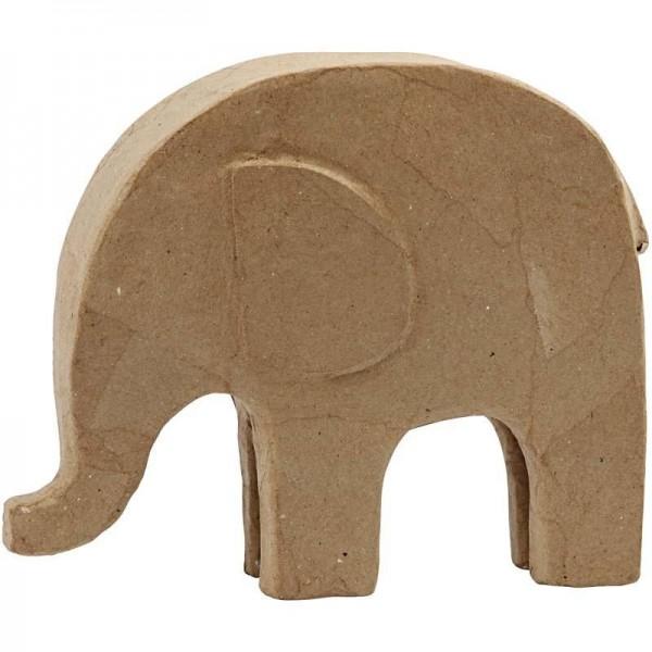 Großer Elefant zum Überziehen und Modellieren 21x24 cm