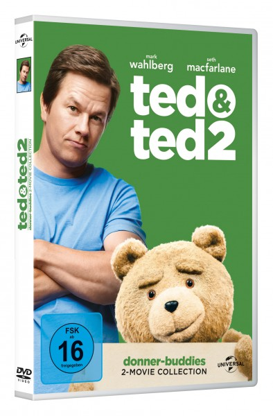 Ted 1 & 2 [2 DVDs]