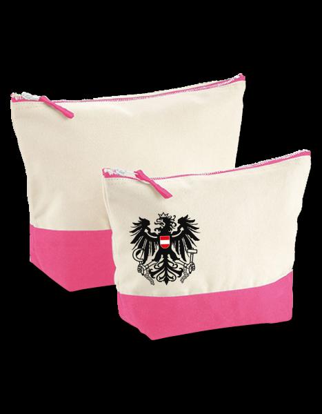 """Accessory Bag Pink """"Brixen"""" mit Österreich Wappenadler"""