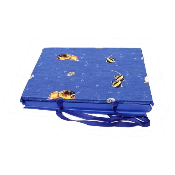 Strandmatte faltbar mit langem Henkel 50x140 cm
