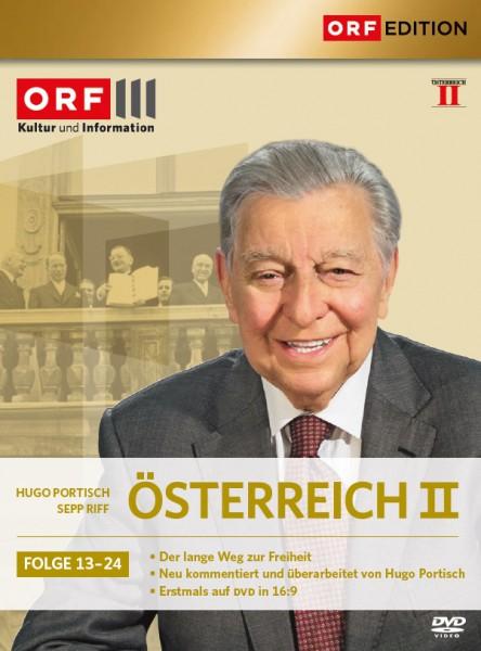 Österreich 2 / Folge 13-24 - ORF3 Edition [6 DVDs] Hugo Portisch
