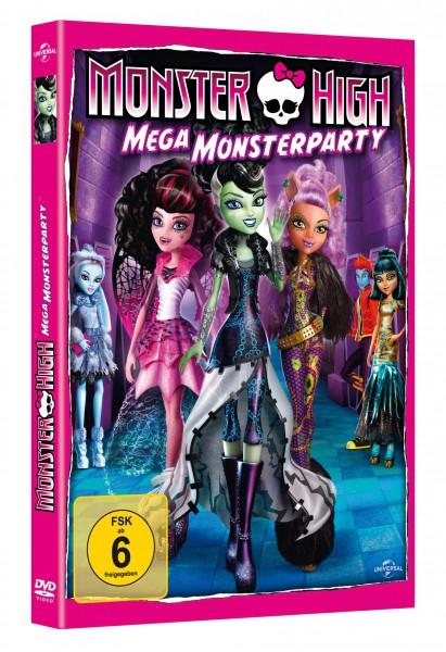 Monster High - Mega Monsterparty (DVD)