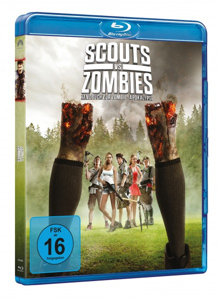 Scouts vs. Zombies: Handbuch zur Zombie-Apokalypse (Blu-ray)