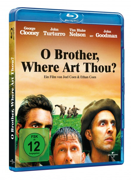 O Brother, Where Art thou? - Eine Mississippi-Odyssee (Blu-ray)