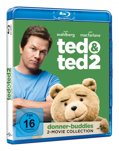 Ted 1 & 2 [Blu-ray]