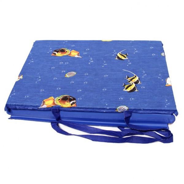 Strandmatte faltbar mit langem Henkel 60x160 cm