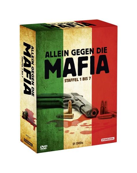 Allein gegen die Mafia - Staffel 1 bis 7 (21 Discs)