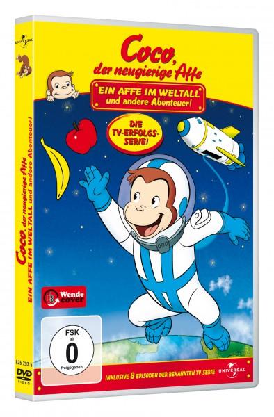 Coco, der neugierige Affe - Ein Affe im Weltall und andere Abenteuer! (DVD)