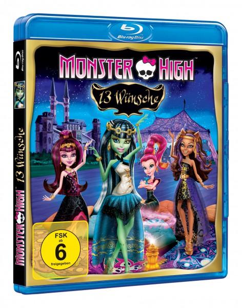 Monster High - 13 Wünsche (Blu-ray)