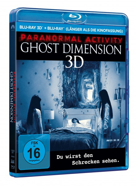Paranormal Activity: Ghost Dimension 3D (Blu-ray)
