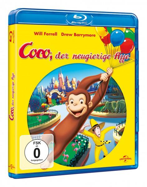 Coco, der neugierige Affe (Blu-ray)