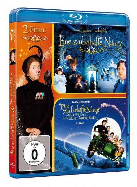 Eine zauberhafte Nanny / Eine zauberhafte Nanny - Knall auf Fall in ein neues Abenteuer (Blu-ray)