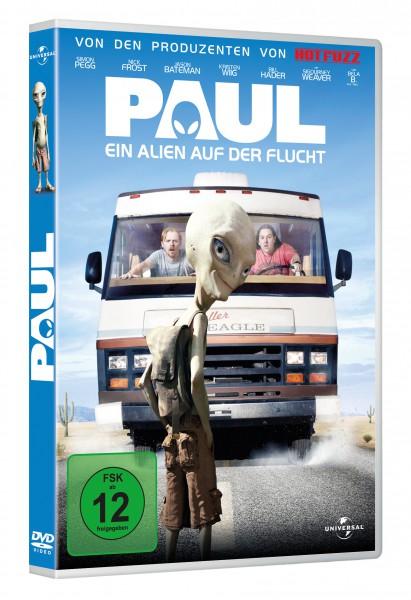 Paul - Ein Alien auf der Flucht (DVD)