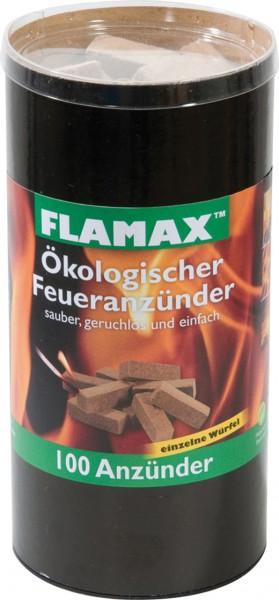 ökologischer Anzünder Holzfasern aus nachwachsenden Rohstoffen - 100 Stück/Packung