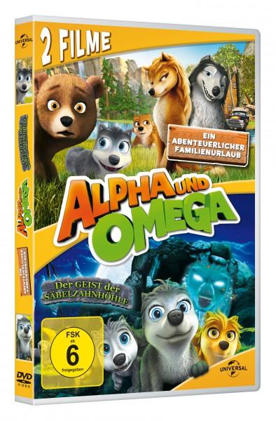 Alpha und Omega - Ein abenteuerlicher Familienurlaub & Der Geist der Säbelzahnhöhle