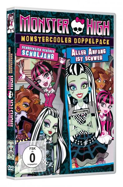 Monster High - Monstercooler Doppelpack: Schrecklich schönes Schuljahr & Aller Anfang ist schwer (DVD)