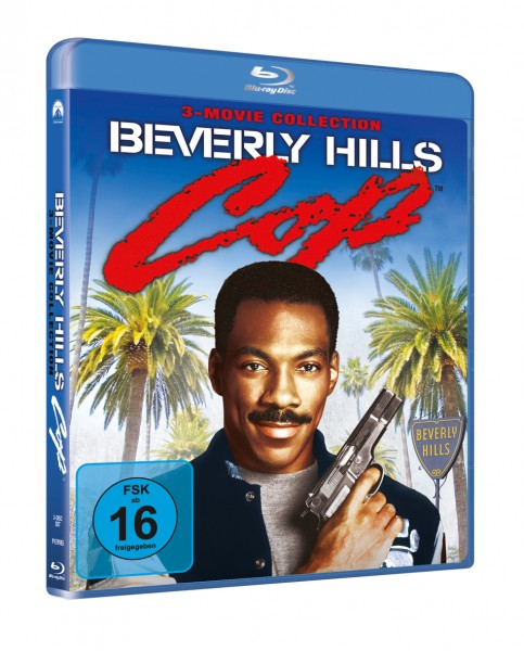 Beverly Hills Cop 1-3 - 3 Movie Collection (Blu-ray, 3 Discs)