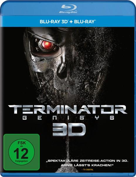 Terminator: Genisys (Blu-ray 3D, 2 Discs)