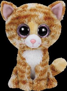 Beanie Boos Glubschi - Tabitha, Katze gescheckt (ca.15cm)