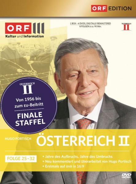 Österreich 2 / Folge 25-32 - ORF3 Edition [4 DVDs] Hugo Portisch