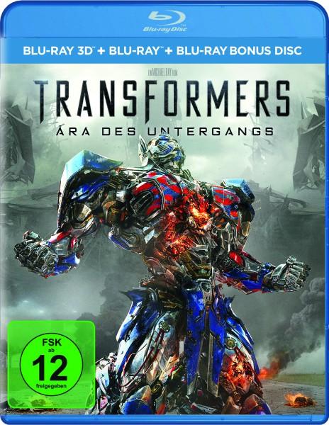 Transformers 4 - Ära des Untergangs (Blu-ray 3D, 3 Discs)
