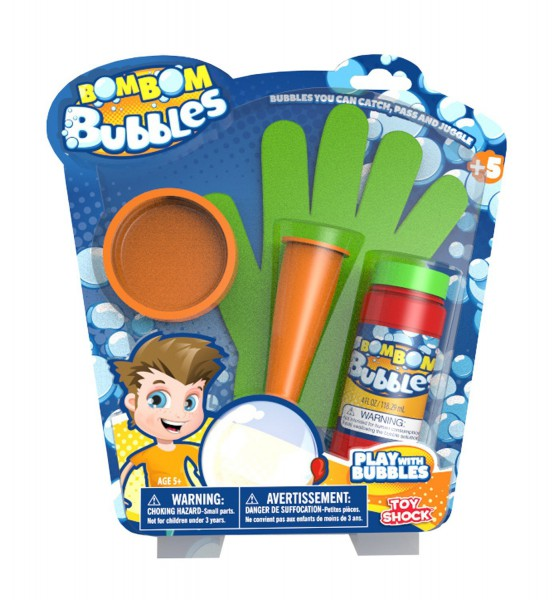 Bom Bom Bubbles - Seifenblasen zum Anfassen
