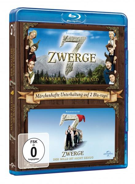 7 Zwerge - Männer allein im Wald / 7 Zwerge - Der Wald ist nicht genug (Blu-ray)