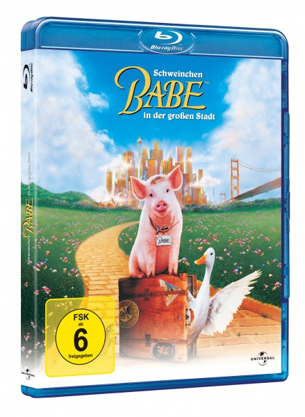 Schweinchen Babe in der großen Stadt (Blu-ray)