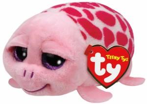 Teeny Ty´s - Schildkröte pink / Shuffler ca. 10cm
