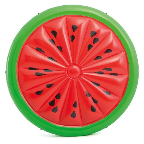 Luftmatratze große Badeinsel (Wassermelone) 1,83 m