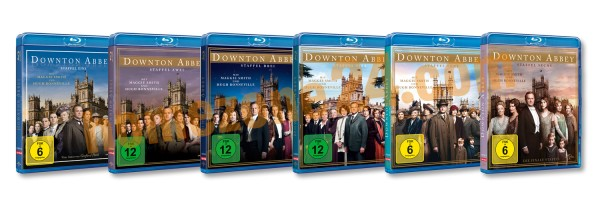 Downton Abbey - Complete Collection (19 Blu-ray´s)