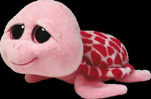 Beanie Boos Glubschi - Shellby, Schildkröte pink (ca.15cm)