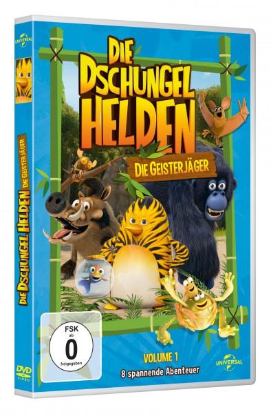 Die Dschungelhelden (Vol. 1) - Die Geisterjäger (DVD)