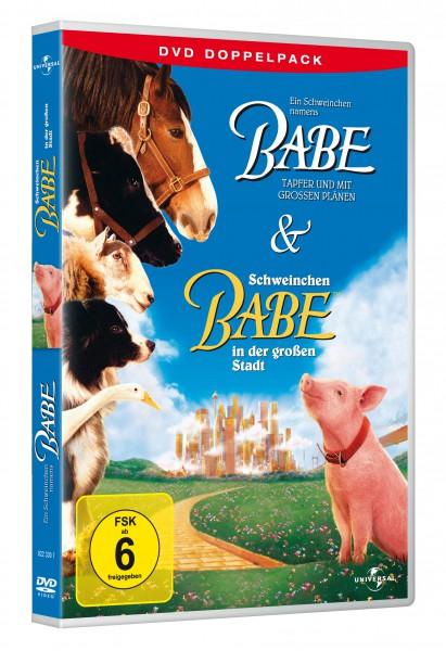 Ein Schweinchen namens Babe & Schweinchen Babe in der großen Stadt (DVD)