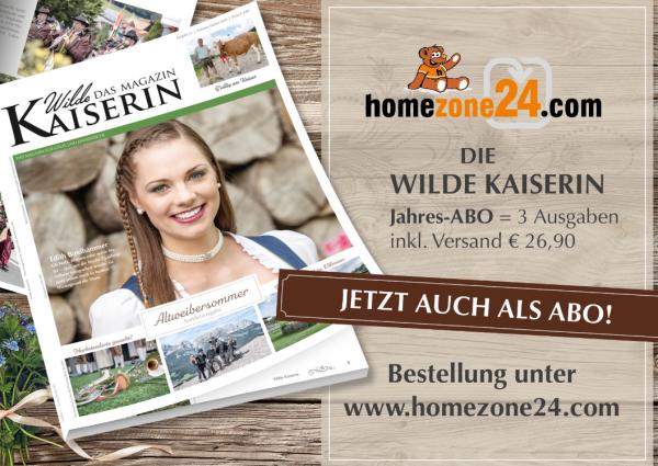 """Die Wilde Kaiserin - """"Das Magazin"""" Jahres-ABO = 3 Ausgaben inkl. Versand"""