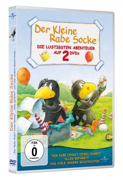 Der kleine Rabe Socke - Der Rabe findet einen Namen & Alles gefärbt!