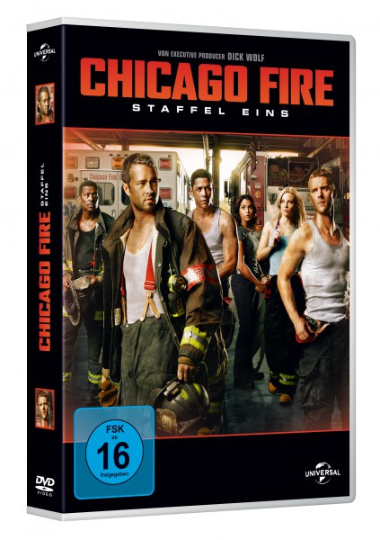 Chicago Fire - Staffel 1 (DVD)