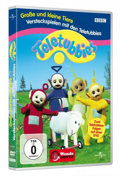 Teletubbies - Große und kleine Tiere - Versteckspielen mit den Teletubbies