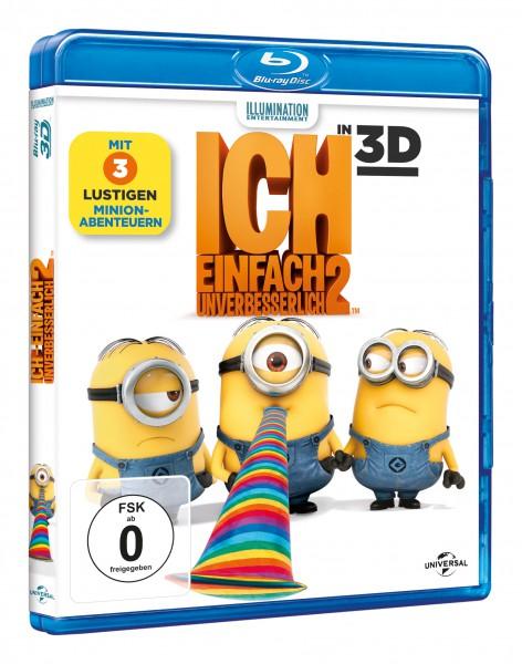 Ich - Einfach unverbesserlich 2 (Blu-ray 3D + Blu-ray)