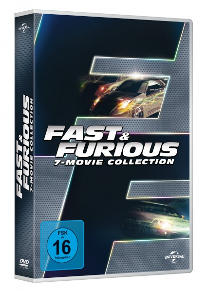 Fast & Furious - 7-Movie Collection (DVD)